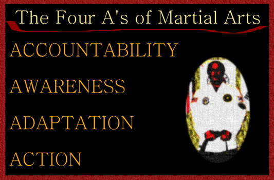 The 4 A's of Martial Arts
