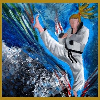 Taekwondo paintings